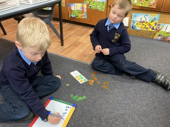 KNB Learning About Addition 5